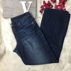 Lucky Brand Size 31 jeans dark wash straight leg